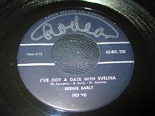 BERNIE EARLY I'VE GOT A DATE WITH EVELINA RODEO 220 ORIGINAL CANADA ROCKABILLY