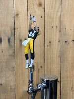Pittsburgh Steelers Beer Keg Tap Handle Hines Ward NFL Football