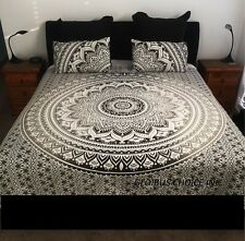 Indian Ombre Mandala Hippie Tapestry Throw Bedspread Queen Wall Hanging Decor**