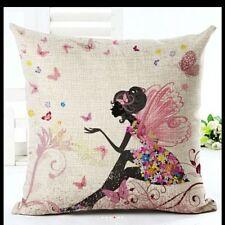 Linen Blend Art Deco Pictorial Decorative Cushions & Pillows