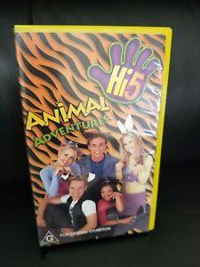 Hi 5 Animal Adventures VHS 2000
