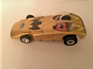 Gar Vic 1/24 Scale Gold Firebird Batmobile Slot Car 1960's RARE