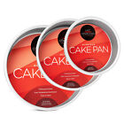 3-Piece Round Cake Pan Set Includes 6