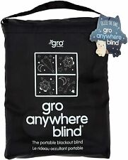 Grobag Gro Anywhere Portable Adjustable Blackout Blind suction cups NEW