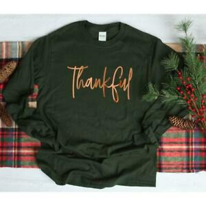 Long Sleeve Thankful Hot New Awesome Vintage Cool Popular Unisex Sweatshirts
