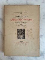 Heilige Theresa Comments Auf Die Lied Der Gesangsbuch Und Dreizehn Gedichte 1920