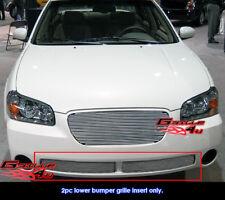 Fits Nissan Maxima SE/GXE Bumper Billet Grill Grille Insert 02-03