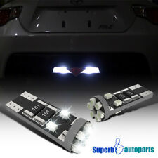 2x 194 2825 921 W5WB W5W 2821 10 SMD Canbus White LED Dome Lights Map Lamps
