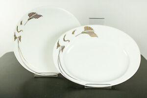 Torten Kuchen Platten Rosenthal Asimmetria Goldblume Porzellan Service Neu