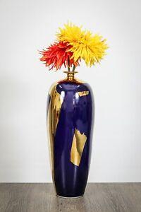 Handmade Home Décor Vase, Large Decorative Ceramic Flower Vase