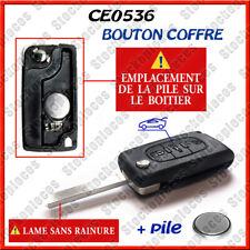 Plip Cle Coque Clef Peugeot 107 207 307 308 SW 407 807 Partner Coffre CE0536 s r