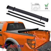 Soft Roll Up Tonneau Cover For 2005-2018 Ford Ranger 5ft Short Truck Bed