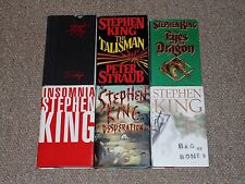 Stephen King Lot of 6 Dark Tower Tie-In HC/DJ Books Insomnia Talisman The Stand