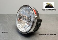 PHARE MOTO UNIVERSEL ROND 200MM BMW