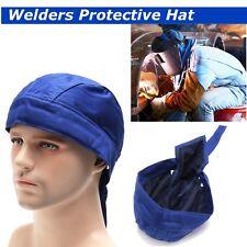 Blue Welders Protective Flame Retardant Hood Hat Cap Welding Safey Helmet Cover
