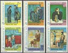 Timbres Arts Tableaux Laos 919/24 ** lot 4607