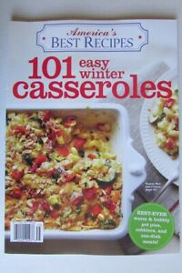 Magazine - America's Best Recipes - 101 Easy Winter Casseroles - One-Dish Meal