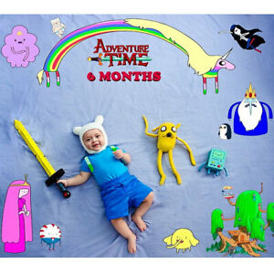 Adventure Time Hat Finn Newborn to Adult Baby Halloween Costume / Cosplay Outfit