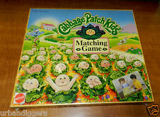 6690/ Vintage CABBAGE PATCH KIDS Matching Board Game ~ 1995 Factory Sealed / NOS