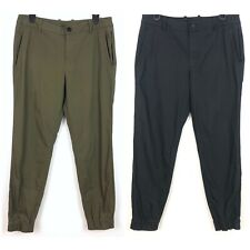 Kit & Ace Lot Of 2 Cargo Jogger Pants Black Olive Green 10