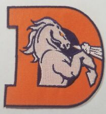 Denver Broncos NFL Logo Embroidered Iron On Patch~Free Shipping from the USA~