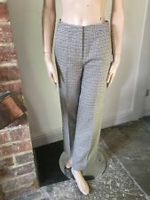 Limited Edition M&S Marks Spencer houndstooth check classic trousers 6 34 vgc