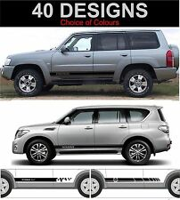 nissan patrol side stripe decals stickers side stripes