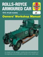 Rolls-Royce Armoured Car (Hardcover) Haynes