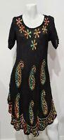 [ Unbranded ] Women's Tie Dye Design Boho A-Line Dress  | Size One Size (AU8-10)
