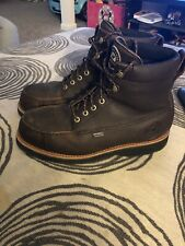 Red Wing Irish Setter 807 Wingshooter Upland Boots Size 10.5D