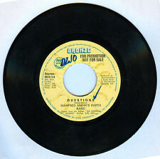 Philippines MANFRED MANN'S EARTH BAND Questions 45 rpm Record