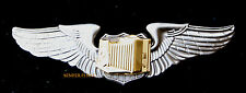 COMBAT AVIATION PHOTOGRAPHER PHOTO CAMERA WING PIN US ARMY AIR CORPS AIR FORCE