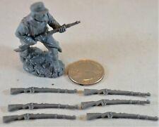 Toy Soldiers of San Diego TSSD WWII German 98k Rifle TSG98K - Set of 6 DDay Gray
