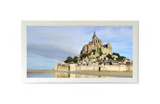 12x36 Panoramic Frame - Wide Satin White