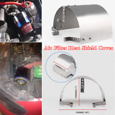 """Stainless Steel Heat Shield Cover For 2.5 ''-5 """" Cone Car Cold Air Intake Filter"""