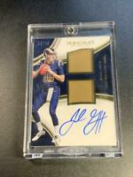 JARED GOFF 2016 PANINI IMMACULATE #JG AUTO DUAL JERSEY ROOKIE RC /49 RAMS NFL