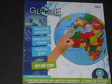 Großer Wasserball Floating GLOBE Giant inflatable Beach Ball Durchm. 100cm
