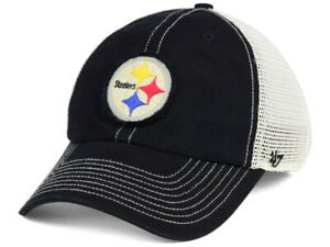 Pittsburgh Steelers NFL '47 Canyon Mesh Clean Up Snapback Football Cap Hat Men's