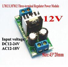 12V L7812 LM7812 Three-terminal Regulator Power Module Rectifier Filter Power