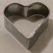 Cookie/Biscuit cutter Heart s/s 4&1.5cm Deep Guaranteed Quality