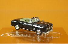Norev 474337 Peugeot 403 Cabriolet 1957 schwarz Scale 1 87
