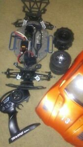 Used traxxas 4wd rc car 1/10 rpm proline brushless offer 6s castle