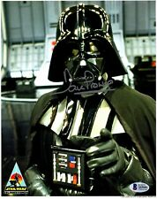 """DAVE PROWSE Signed """"Darth Vader"""" STAR WARS 8x10 Official Pix Photo BAS #Q69601"""