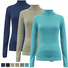 Polo Neck Long Sleeve Women's Other Tops