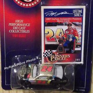 #24 Jeff Gordon 1/64 NASCAR Diecast Car 1997 DAYTONA 500 CLASH CHROMA PREMIER