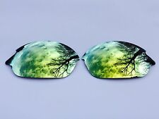 POLARIZED 24k GOLD CUSTOM MIRRORED REPLACEMENT OAKLEY ROMEO 2.0 LENSES