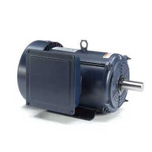 Leeson Electric Motor 140685.00 10 HP 3600 Rpm 1-PH 208-230 Volt 215T Frame
