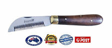 Farrier Pocket Hoof Thinning Knife Comb Fold-able Swiss Style Comb Stainless