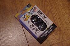 Black Eye Combo Magnetic Mobile Phone Lens Kit - Fish Eye + Wide Angle + Macro