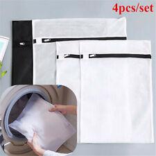 4Pcs Laundry Bags Storage Clothes Mesh Washing Net Underwear Clothes Socks